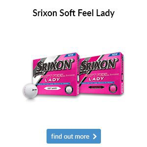 Srixon Lady Soft Feel Golf Balls